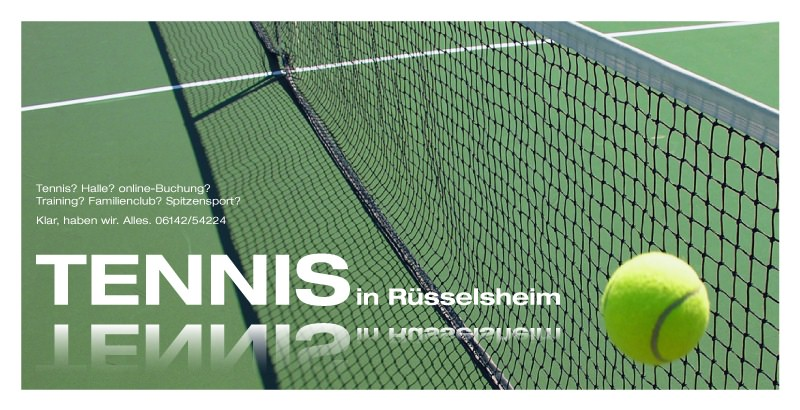 Tennis in Rüsselsheim